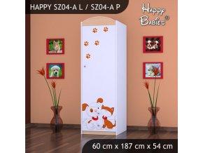 Skriňa Happy Hruška SZ04-A