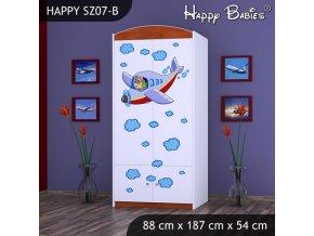 Skriňa Happy Calvados SZ07-B