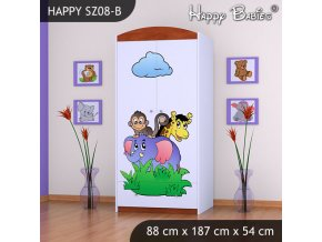 Skriňa Happy Calvados SZ08-B