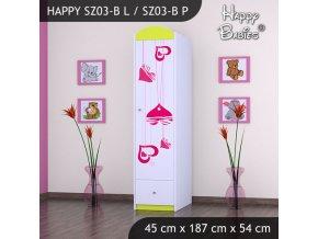 Skriňa Happy Lemon SZ03-B