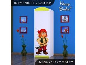 Skriňa Happy Lemon SZ04-B
