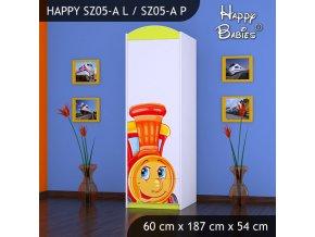 Skriňa Happy Lemon SZ05-A