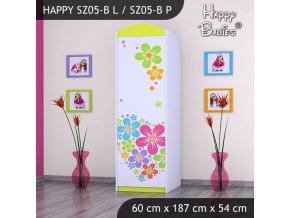 Skriňa Happy Lemon SZ05-B