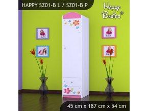 Skriňa Happy Pink SZ01-B