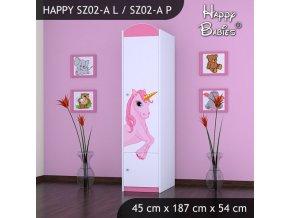 Skriňa Happy Pink SZ02-A
