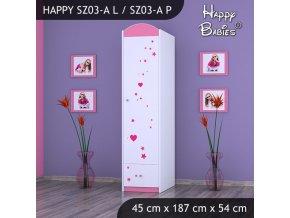 Skriňa Happy Pink SZ03-A