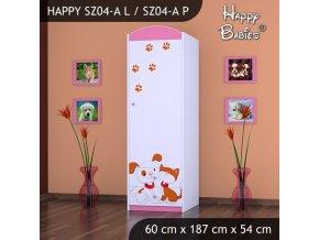 Skriňa Happy Pink SZ04-A