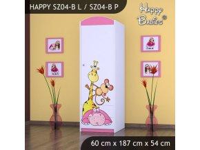 Skriňa Happy Pink SZ04-B
