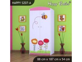 Skriňa Happy Pink SZ07-A