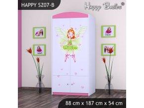 Skriňa Happy Pink SZ07-B