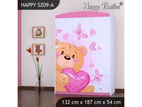 Skriňa Happy Pink SZ09-A