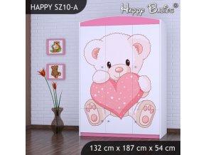Skriňa Happy Pink SZ10-A