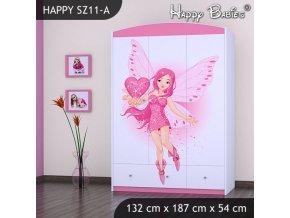 Skriňa Happy Pink SZ11-A