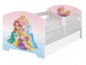 Disney Palace pets 140x70 detská posteľ