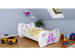Detská posteľ DREAM biela 140x70