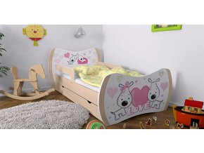 Detska postel DREAM hruška 140x70