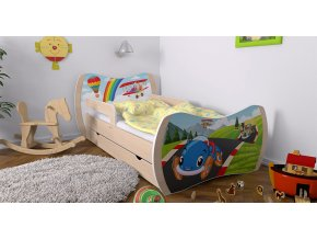 Detské postele Dream hruška 180x90