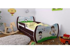 Detská posteľ Dream wenge 160x80