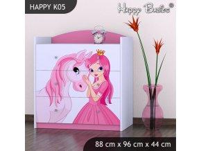 Komoda Happy Pink K05