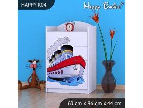Komoda Happy Biela K04