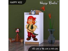 Komoda Happy Buk K02