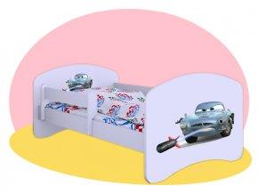 Autá Finn McMissile - posteľ Hobby 140x70