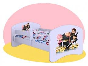 Ja zloduch - Hobby posteľ 140x70
