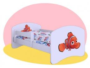 Hľadá sa Nemo - detská posteľ Hobby 140x70