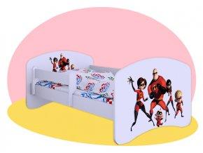Rodinka úžasných - detská posteľ Hobby 140x70