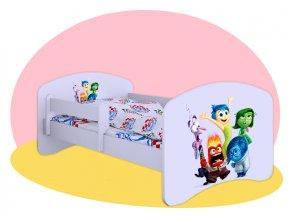 V hlave - detská posteľ Hobby 140x70