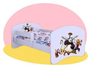 Kung Fu Panda 2 - detská posteľ Hobby 140x70