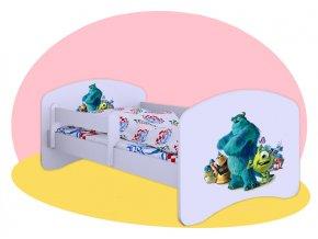 Príšerky Univerzita - posteľ pre deti 140x70
