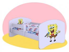 SpongeBob - posteľ pre deti Hobby 140x70