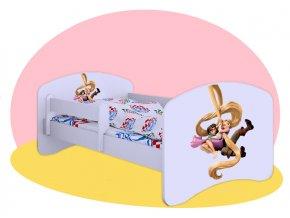 Na vlásku - Hobby detská posteľ 140x70