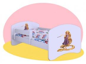 Tangled - Hobby posteľ pre deti 140x70
