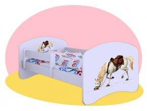 Maximus Na vlásku - detská posteľ Hobby 140x70