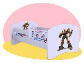 Bumblebee Transformers - detská posteľ Hobby 140x70