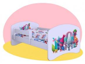 Trolovia - detská posteľ Hobby 140x70