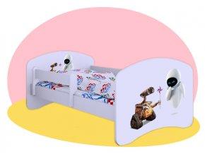 Wall E - detská posteľ Hobby 140x70