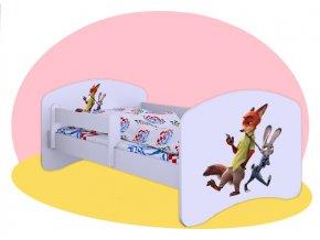 Zootropolis - detská posteľ Hobby 140x70