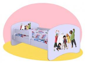 Veľká šestka - posteľ Hobby 160x80