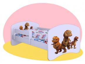 Dobrý dinosaurus - detská posteľ Hobby 160x80