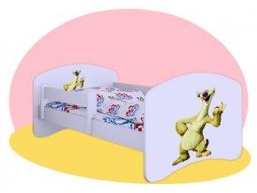 Sid Doba ľadová - posteľ Hobby biela 160x80