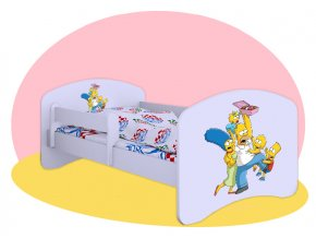 Simpsonovci - detská posteľ Hobby 160x80