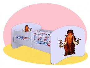 Manny Ice Age - posteľ Hobby 180x90