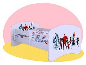 Incredibles - detská posteľ Hobby 180x90