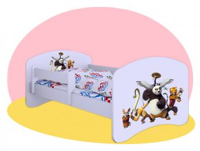 Kung Fu Panda 2 - posteľ Hobby 180x90