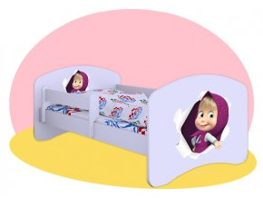 Máša posteľ pre deti Hobby 180x90