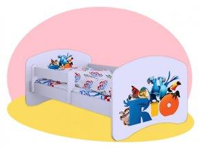 Rio - detská posteľ Hobby 180x90