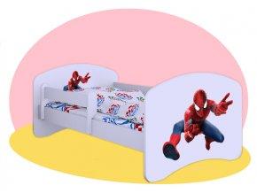 Spiderman 2 - detské postele Hobby 180x90